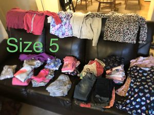 Girls kids cloths Must sell ASAP! for Sale in Lancaster, CA