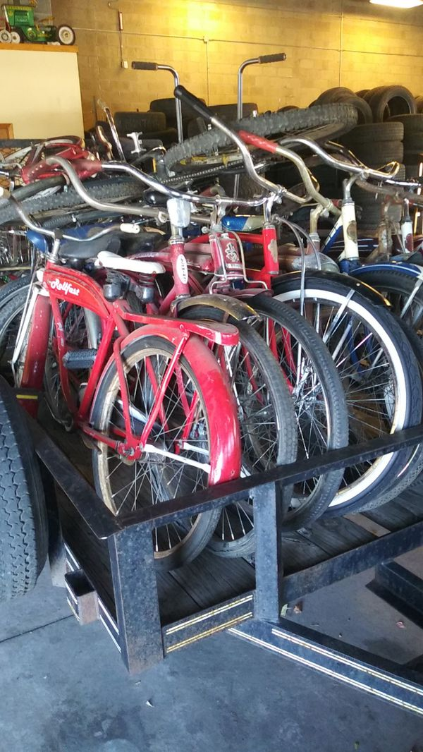 Lots of old bike's