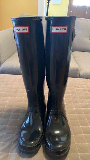 Hunter rain boots 8 for Sale in Sacramento, CA