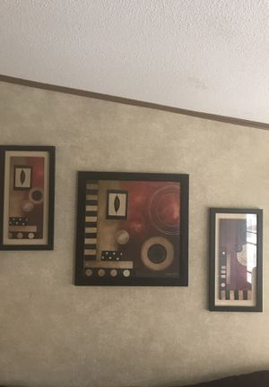 3 piece wall decor for Sale in Fairborn, OH