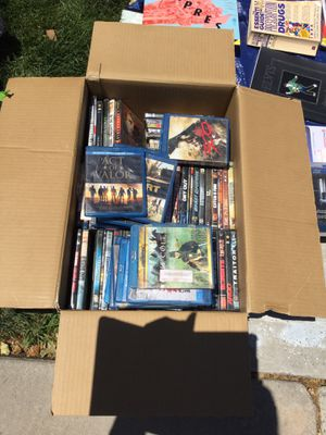 120 DVD Regular and Blue Ray( all of them together for sell) for Sale in Sacramento, CA