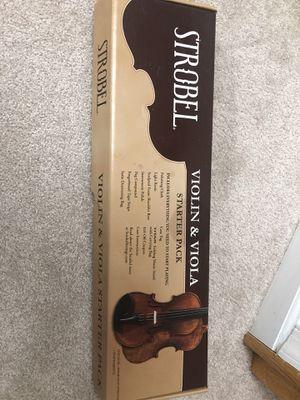 Violin and Viola Starter Pack for Sale in Springfield, VA