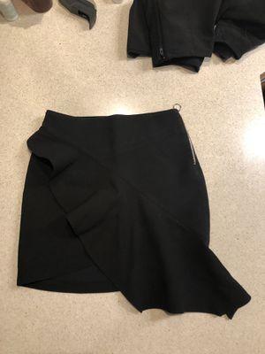 Zara asymmetrical flare mini skirt for Sale for sale  NJ, US