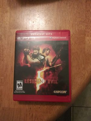 Resident Evil 5 ps3 for Sale in Buffalo, NY