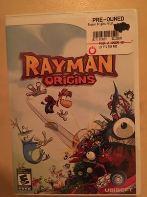 Nintendo Wii rayman origins for Sale in Visalia, CA