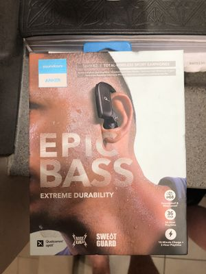 Anker Epic Bass headphones for Sale in Las Vegas, NV
