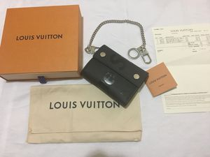 Original Supreme X Louis Vuitton Epi Leather Wallet! for Sale in Miami, FL