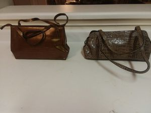 Leather Croco Tote Bags - Exquisite for Sale in Hutto, TX