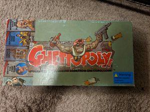 Ghettoply rare board game for Sale in Portland, OR