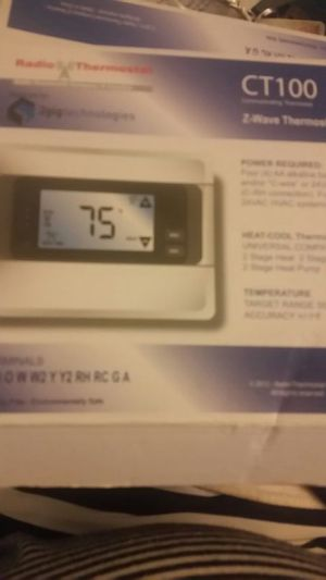 Z wave thermostat digital for Sale in Marietta, GA