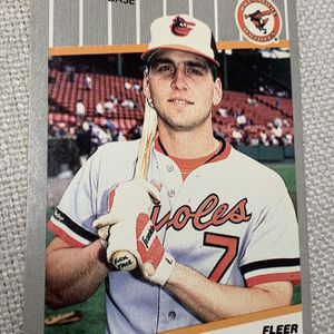 1989 Billy Ripken Fleer Error Baseball Card F#ck Face for Sale in Anaheim, CA