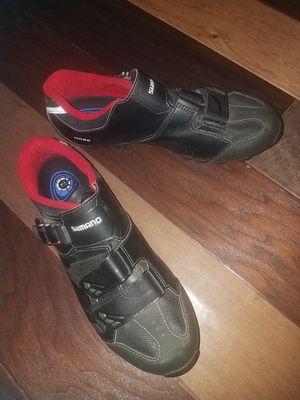 Shimano Men's bike shoes size 9.7 for Sale in Arlington, TX