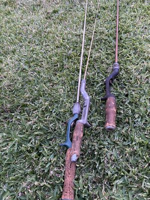 3 Fishing Rods for Sale in Culver City, CA