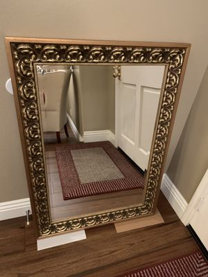 "Mirror with 4 inch frame W 31 1/2"" x H 43 1/2"" See details for Sale in Tustin, CA"