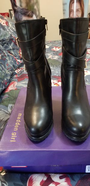 Madden Girl black boots for Sale in Fort Meade, MD