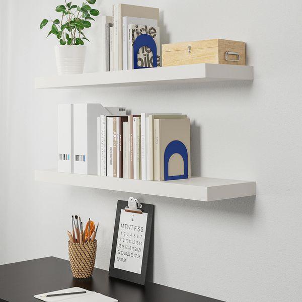 IKEA Lack Wall Shelves - Set of 2