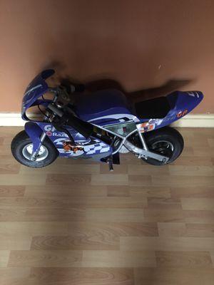 Razor electric speed racing motorcycle pocket rocket for Sale in Bridgeport, CT