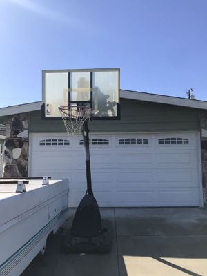 "Spalding NBA 54"" Portable Angled Basketball Hoop for Sale in Lakewood, CA"
