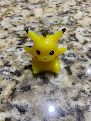 Vintage Pokémon 1998 Pikachu Light Up Keychain - Nintendo Pokemon Tiger Tomy A for Sale in Nashville, TN