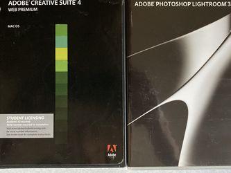 Adobe Creative Suite 4 + Lightroom 3 for Sale in Seattle,  WA