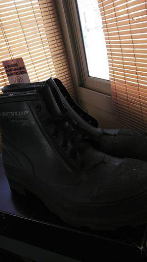 Men steel toe work boots size 10 for Sale in Detroit, MI