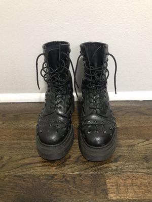 1490 matte black studded Doc Marten boots for Sale in Portland, OR
