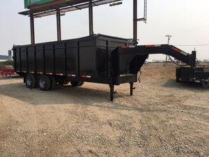 20' Gooseneck Dump Trailer for Sale in Fresno, CA