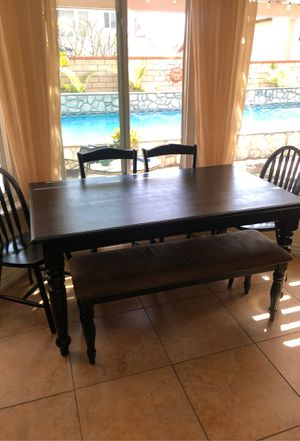 Kitchen Table - Black for Sale in Chino, CA