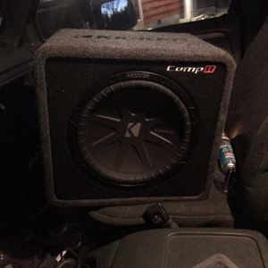 Kicker 12 Inch Comp R With Kicker 300 Watt Amp for Sale in Jackson Township, NJ