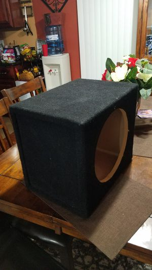 """Subwoofer box for """"12 inch speaker for Sale in City of Industry, CA"""