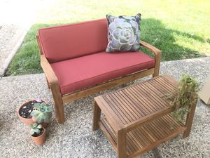 Outdoor Loveseat and Coffee Table for Sale in Orangevale, CA