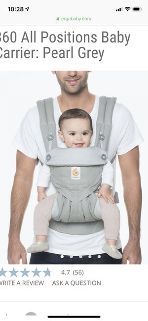 Ergo baby carrier for Sale in Costa Mesa, CA