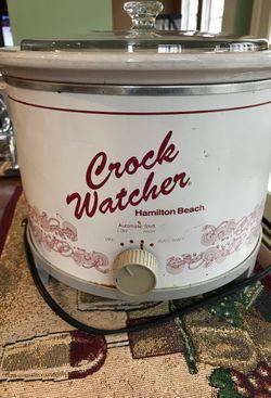 Hamilton Beach crock watcher crock pot for Sale in North East,  MD