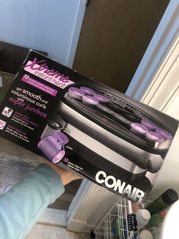 Conair Xtreme Heat Waves Jumbo, Hair Setters for Salon-Style Curls