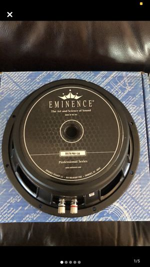 "Eminence DELTA-PRO12A 12"" full range speaker for Sale in Santa Ana, CA"