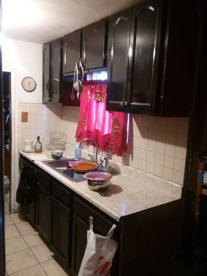 Kitchen cabinets and counter with sink and faucet for Sale in Vernon, CA