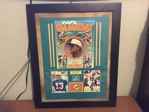 Dan Marino signed hall of fame for Sale in Riverview, FL
