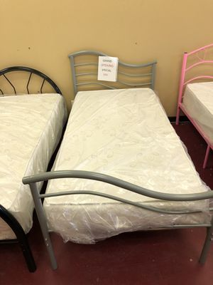 Furniture bed a twin size for Sale in Garland, TX