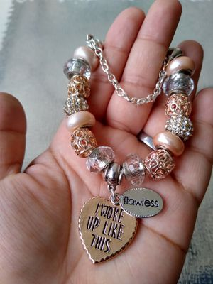 Flawless Pandora STYLE charm bracelet for Sale in Spring, TX