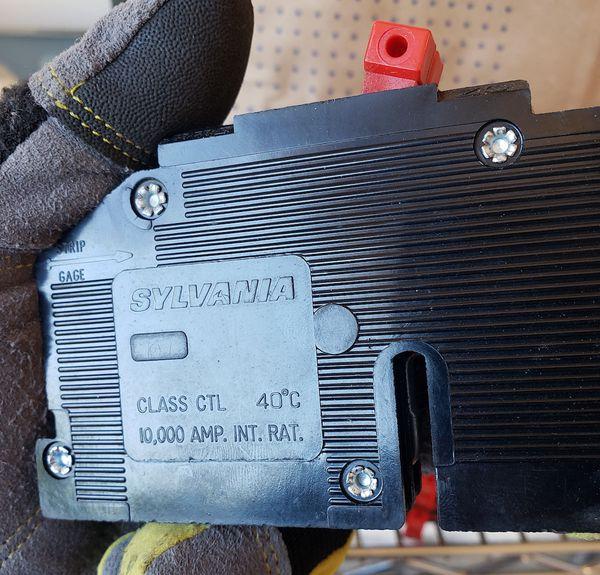 Zinsco Sylvania Electrical Circuit Breakers