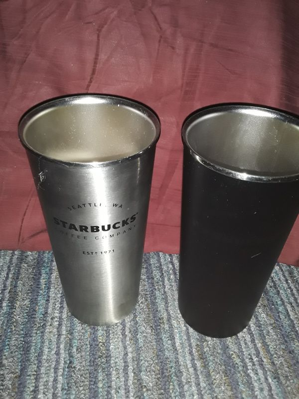 Stainless steel Starbuck cups