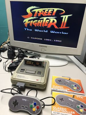 Super famicom street fighter for Sale in Coral Gables, FL