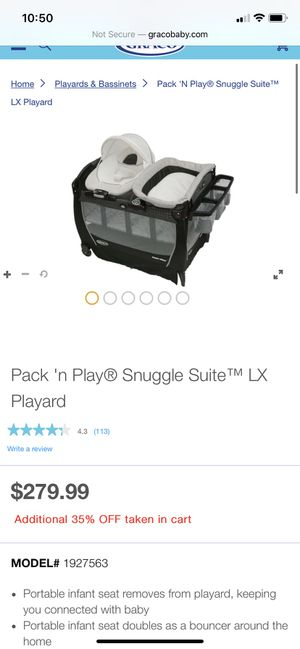 Graco pack and play for Sale in Lake Wales, FL