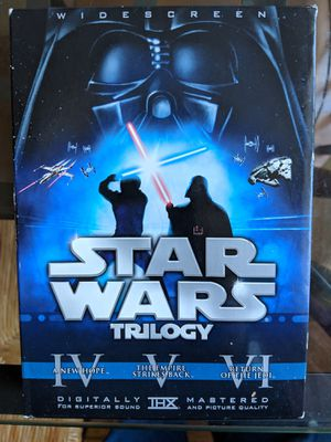 Star Wars Original Trilogy Limited Edition DVD Set with Theatrical Cut Bonus Discs for Sale in Silver Spring, MD
