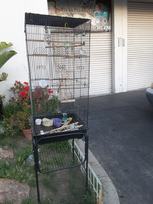 17x70 bird cage/ jaula para pajarros for Sale in Lincoln Acres, CA