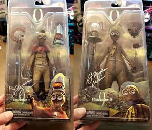 Two NECA Movie 9 Rare Collectible Action Figures - Signed! for Sale in San Diego, CA