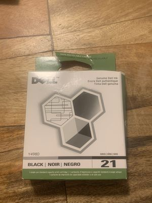 Black Dell Series 21 - Brand New Printer Ink for Sale in Monroe, LA