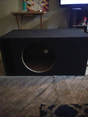 15 in subwoofer box vented for Sale in Pittsburgh, PA
