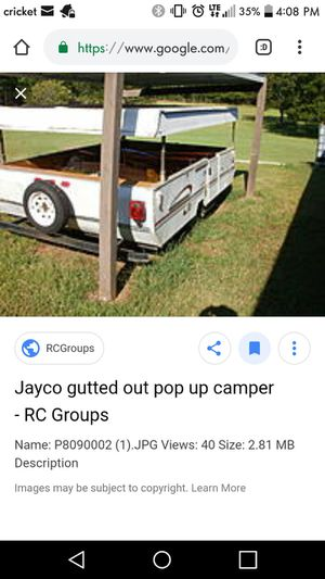 Gutted pop up camper for Sale in Sorrento, FL