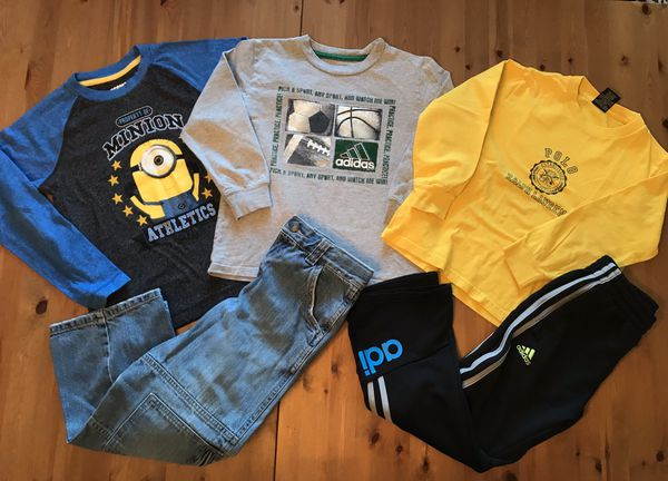 Boys Spring Summer Clothes Size 6/7 T (S)